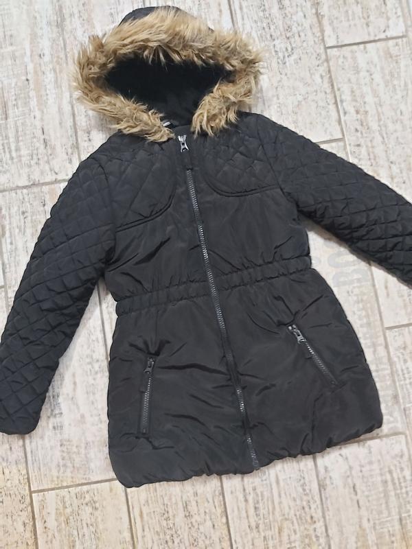 Теплая куртка пальто парка
