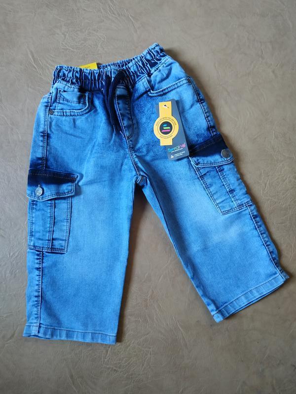 ????джинсовые бриджи????
