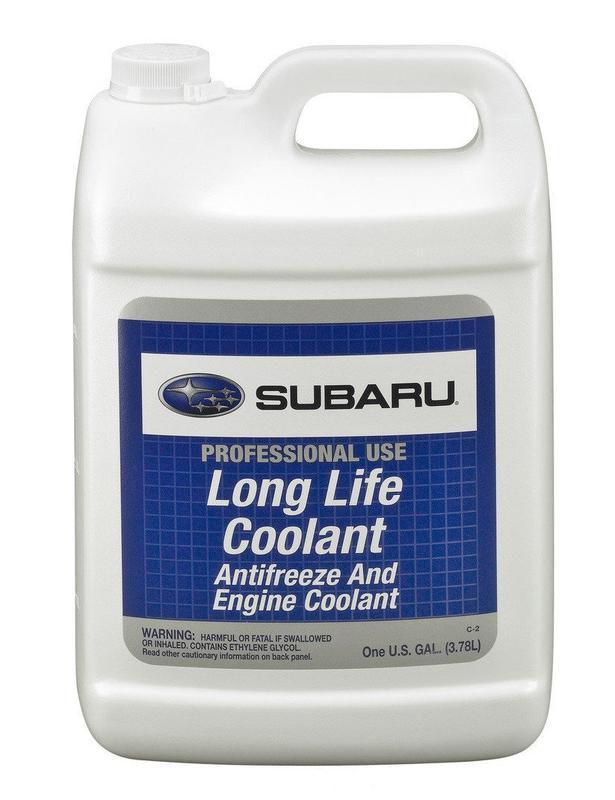 Subaru Antifreeze Lonf Life Coolant