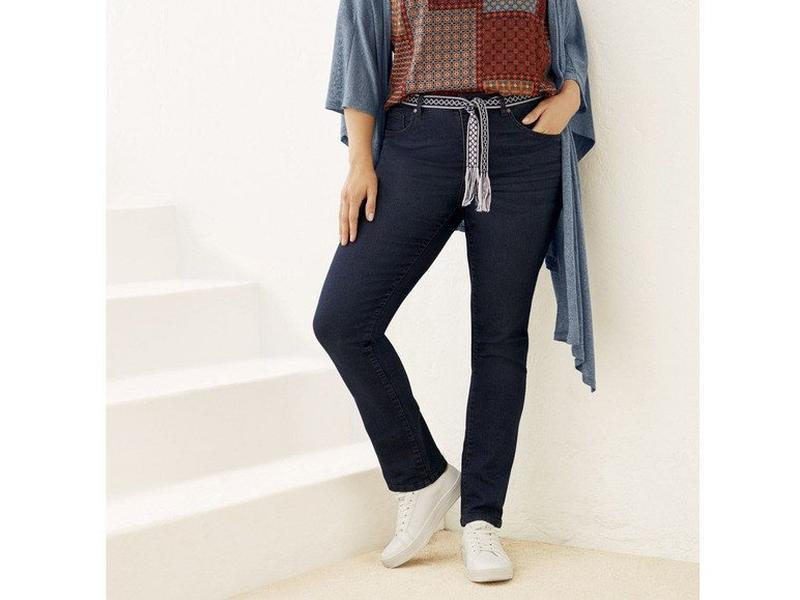 Шикарные джинсы батал   р. 52