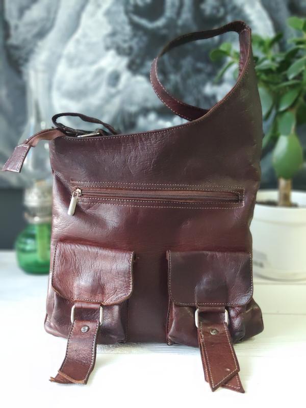 Классная сумка из натуральной кожи. - Фото 3