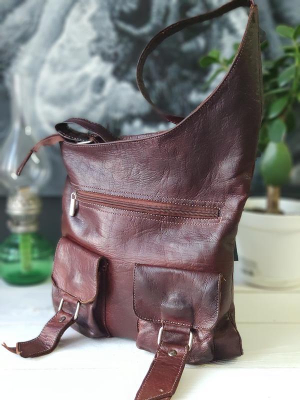 Классная сумка из натуральной кожи. - Фото 4