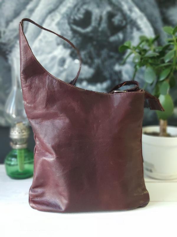 Классная сумка из натуральной кожи. - Фото 6