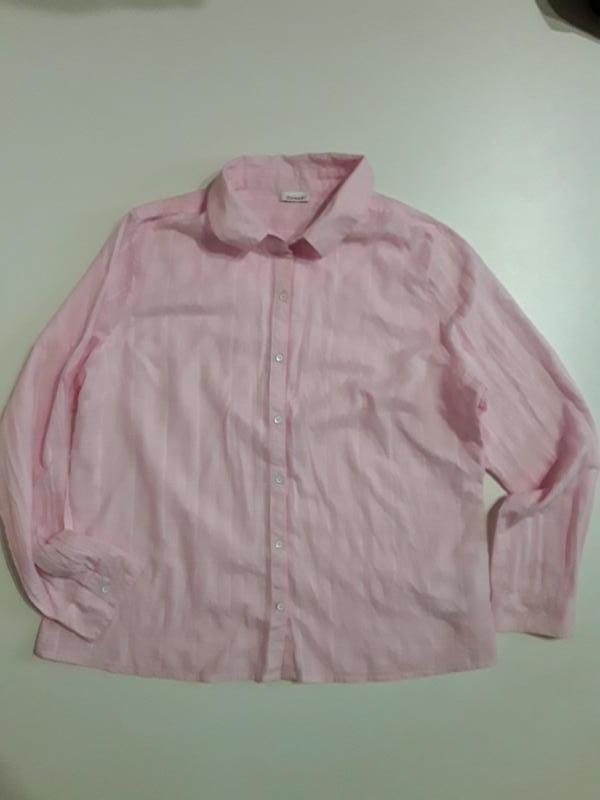 Фирменная легкая хлопковая рубашка