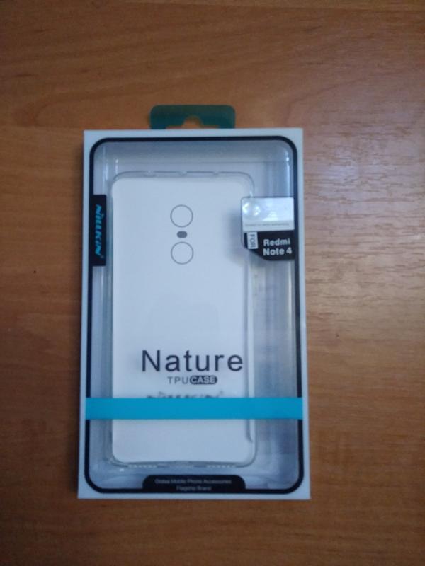Nillkin Nature clear ,для смартфона Xiaomi Redmi Note 4