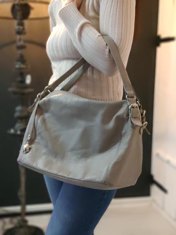 Carpisa 100% оригинальная кожаная сумка.