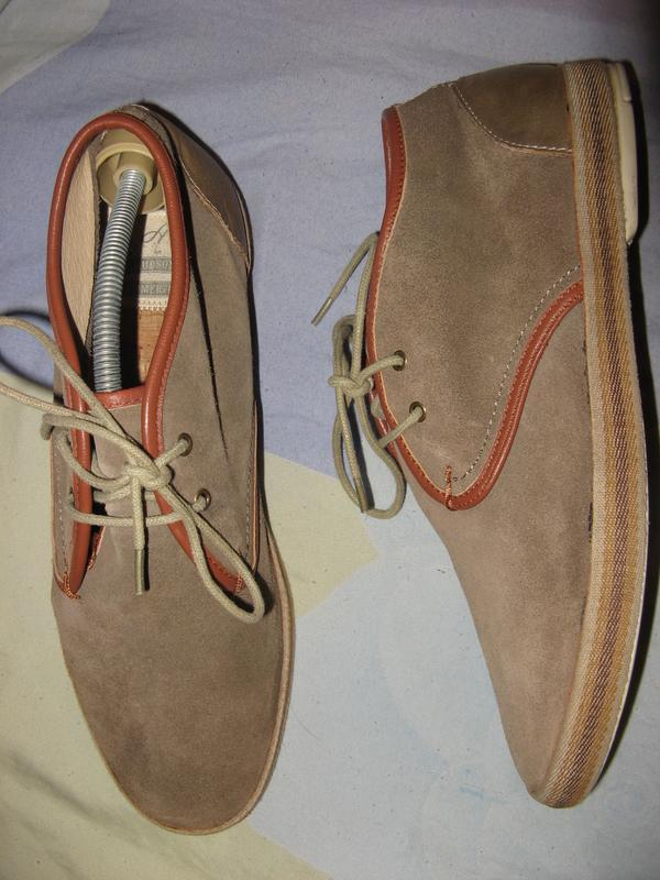 Туфли из натуральной замши новые hudson оригинал размер 44 по ...