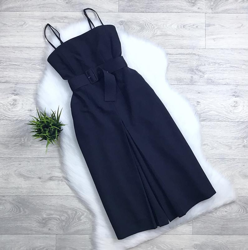 Шикарные комбинезон-платье с поясом
