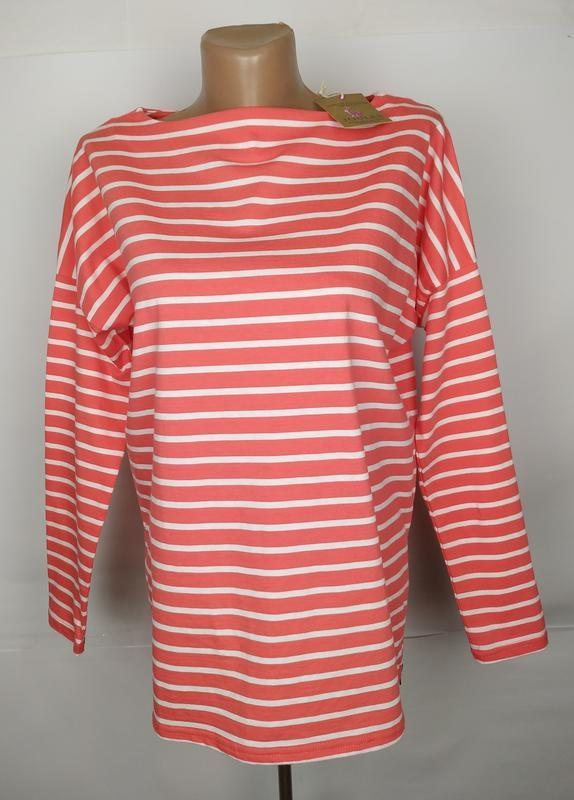 Блуза кофточка новая в полоску оригинал joules uk 6/34/xs
