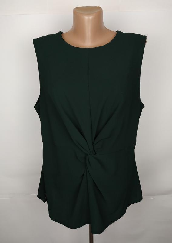 Блуза шикарная зеленая new look uk 14/42/l