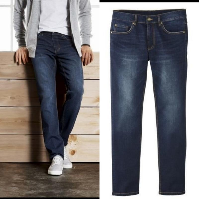 Качественные мужские джинсы livergy slim fit 52(36 /34)