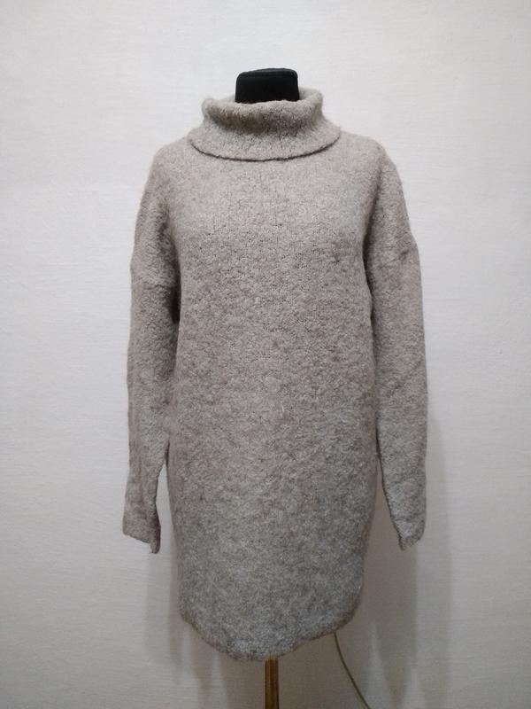 Стильный теплый свитер asos большого размера