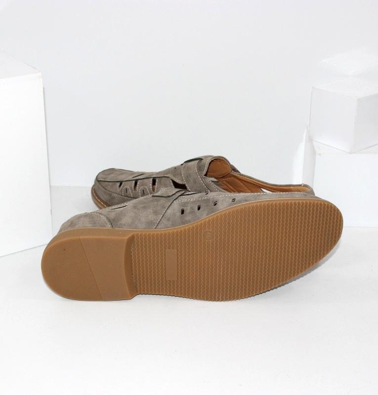 Летние комфортные туфли больших размеров