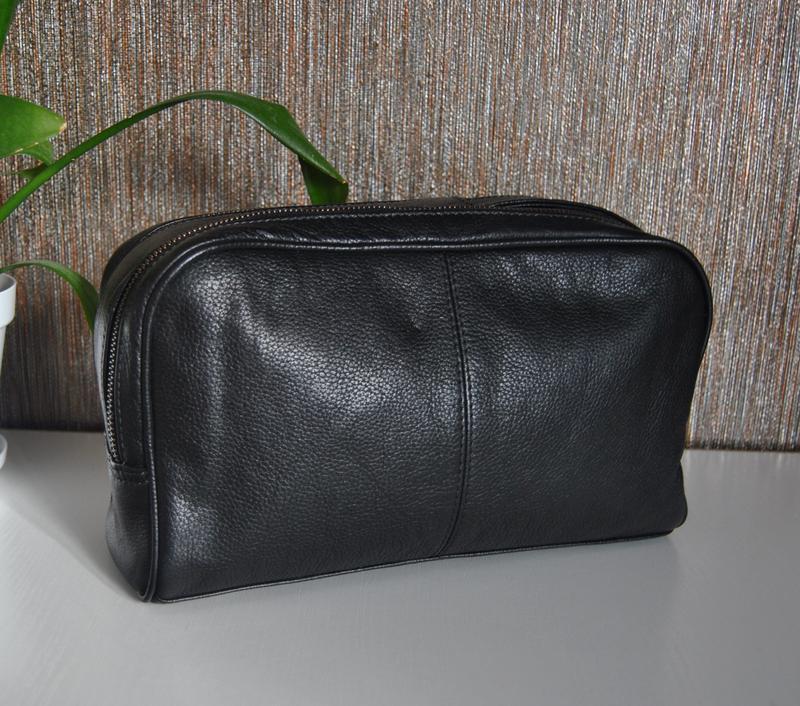 Кожаная косметичка *сумка hotter / шкіряна косметичка унісекс