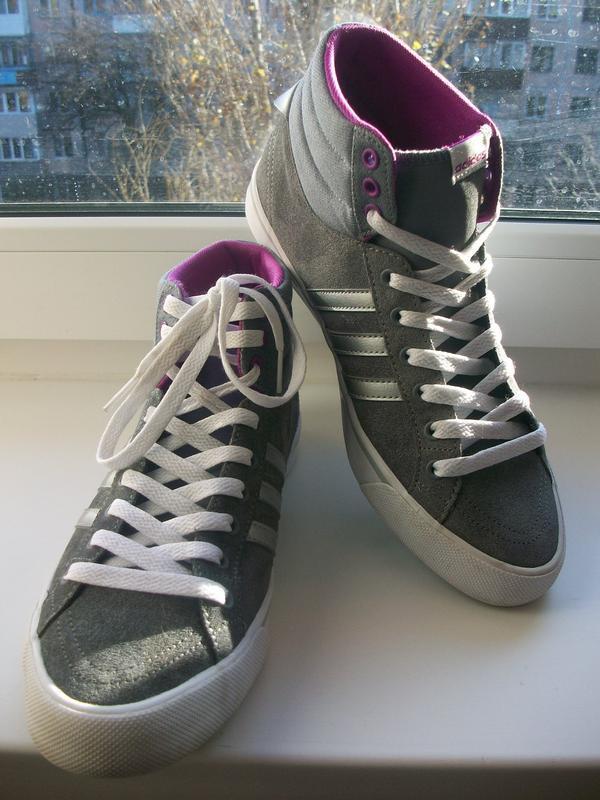 Кроссовки, кеды женские натуральная замша adidas р.38