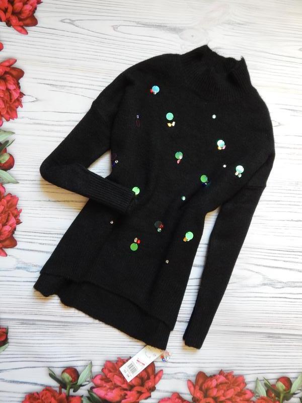 🌿невероятно шикарный женский теплый свитер оверсайз от f&f. ра...