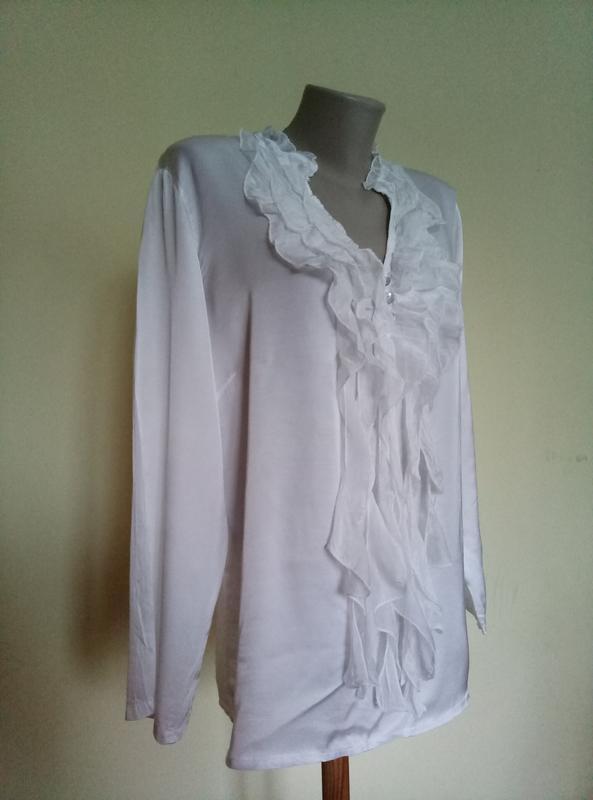 Нарядная итальянская блуза шелк