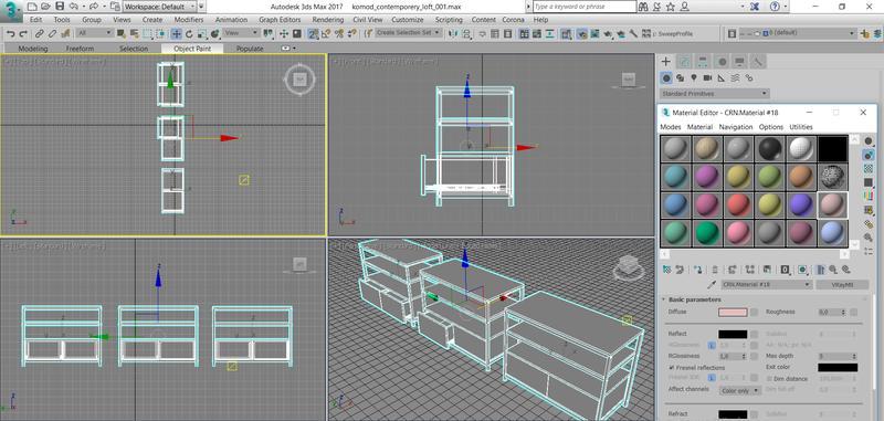 3d мебели для сайта