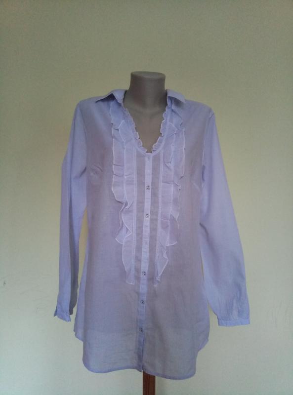 Легкая блузочка из тоненького хлопка