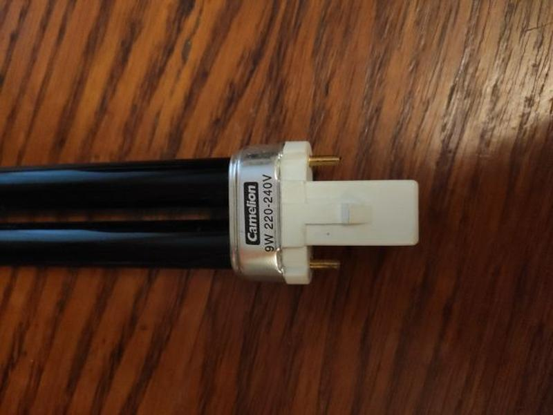 Camelion 9W 220-240 Volt G23 лампа ультрафиолетовая для детект...