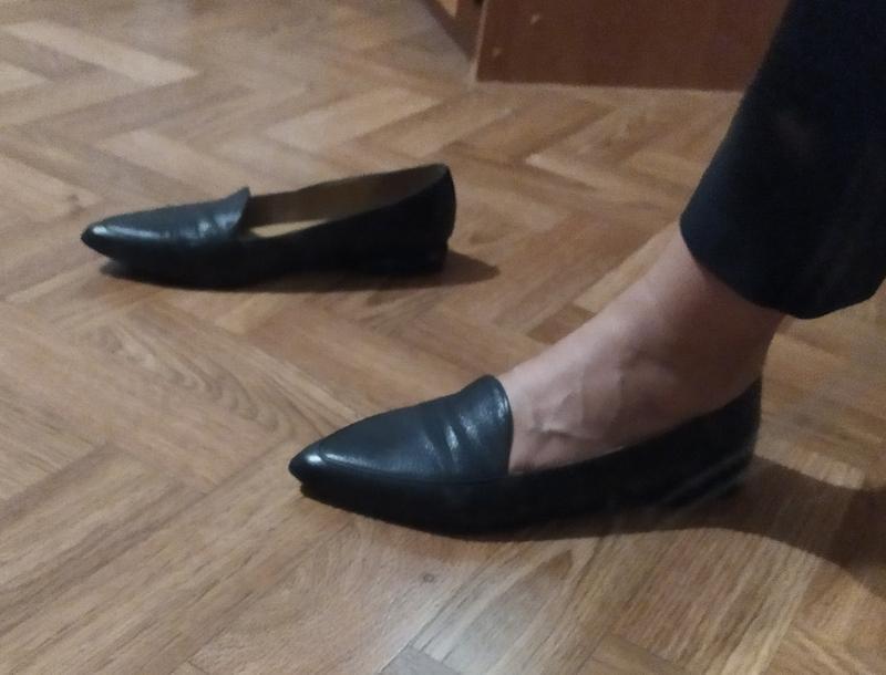 Туфли кожа на ногу 25 см