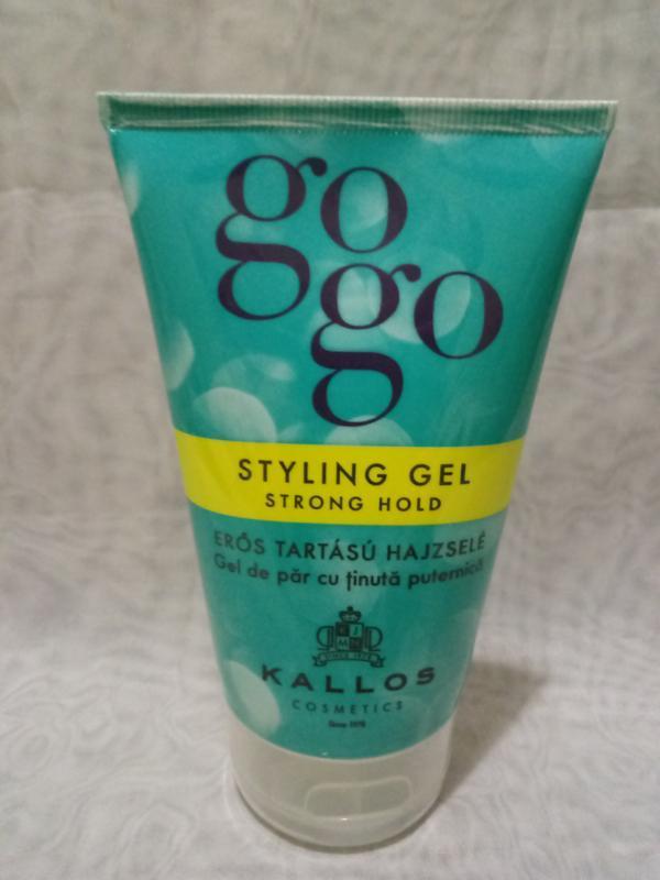 Гель kallos cosmetics gogo сильной фиксации для укладки 125 мл