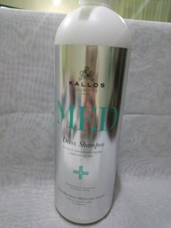Шампунь kallos cosmetics med detox shampoo против перхоти для ...