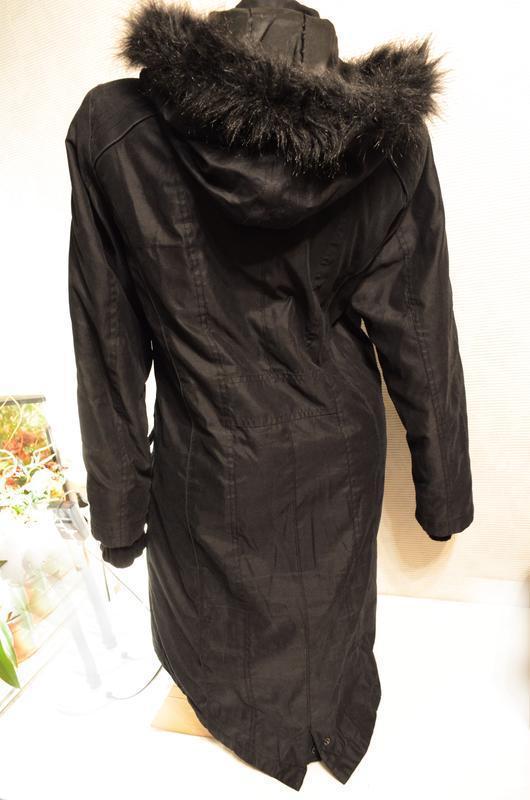 Пальто парка m&s per una на синтепоне, вещи со шкафа в распрод...