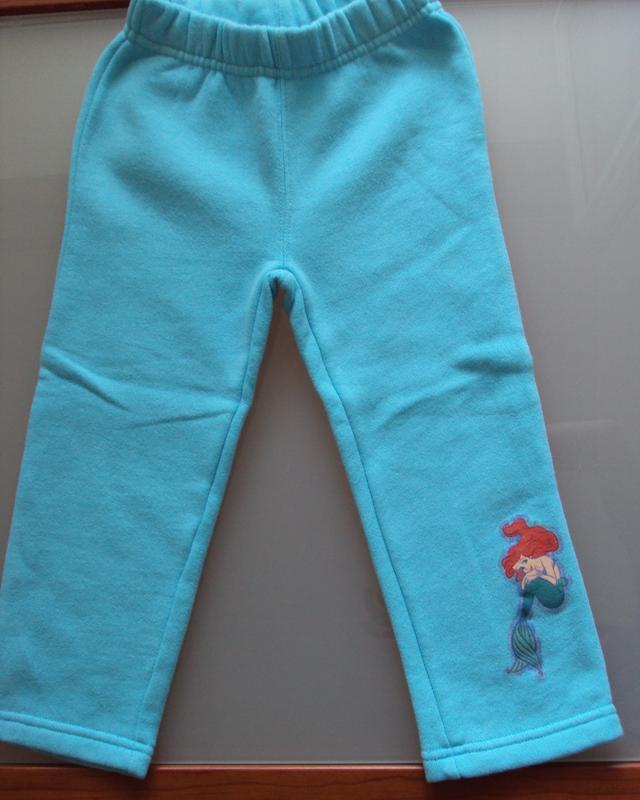 Штаны теплые для девочки disney с русалочкой