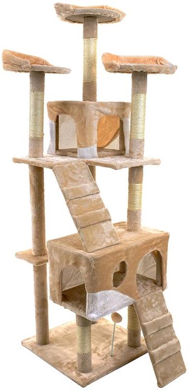 Когтеточка домик для котиков