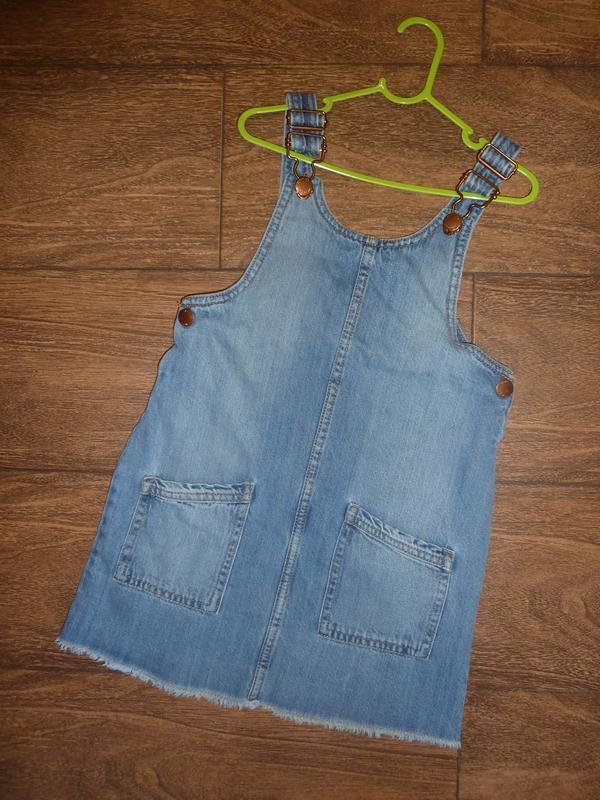 Сарафан джинсовый на 6-7 лет