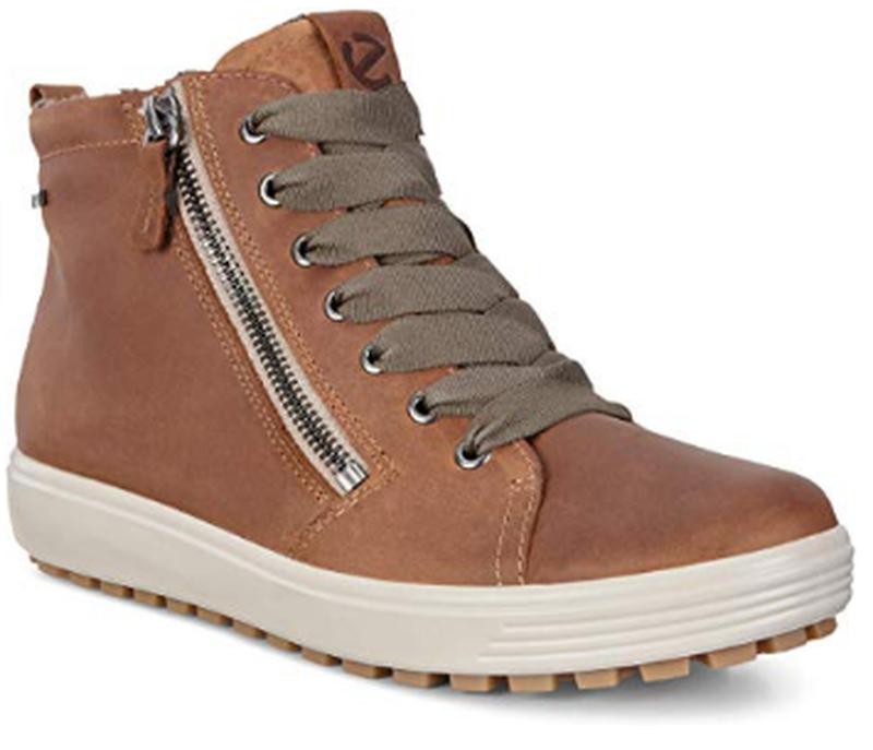Теплые ботинки женские ecco soft 7, экко оригинал