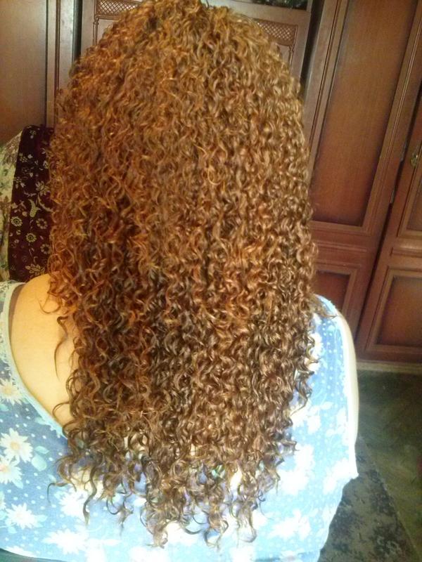 Химическая завивка волос, биозавивка
