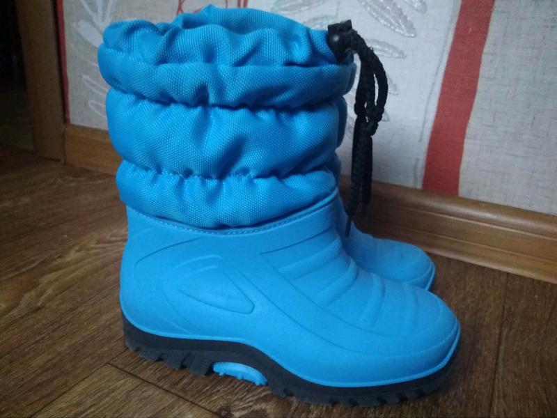 Сноубутсы ботинки зима 28 18см стелька в отличном состоянии