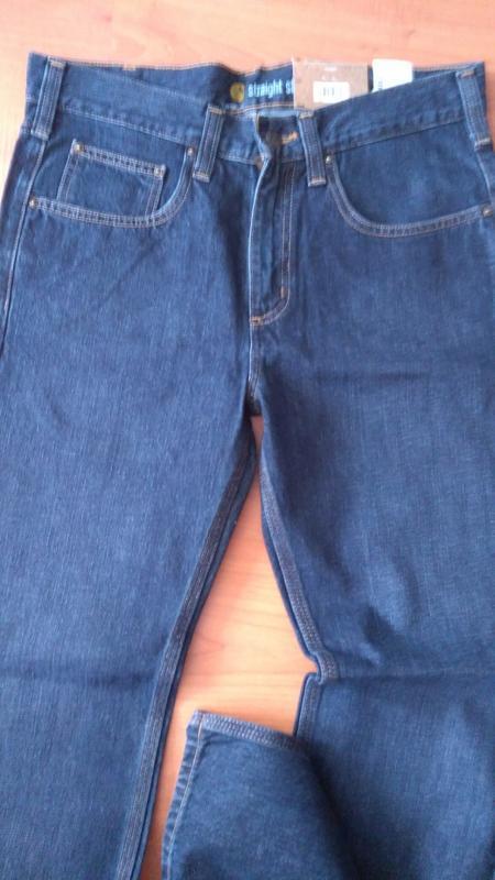 Джинсы мужские carhartt b315 straight-fit denim jeans оригинал... - Фото 4