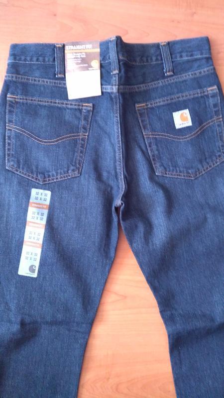 Джинсы мужские carhartt b315 straight-fit denim jeans оригинал... - Фото 5