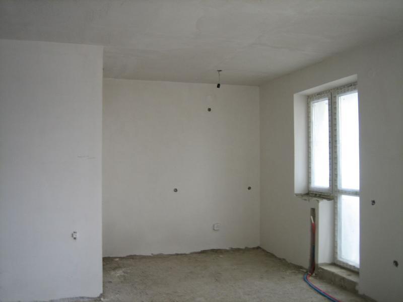 Штукатурка стен, потолков.