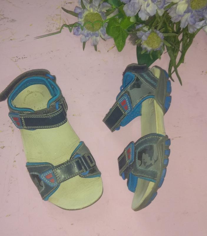 Кожаные сандалии босоножки clarks р 27,5-28