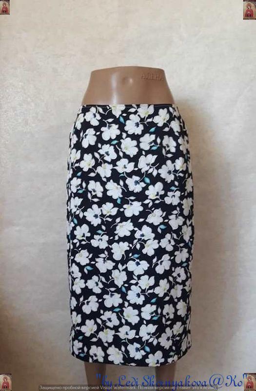 Фирменная ara юбка миди в крупный красочный цветочный принт на...
