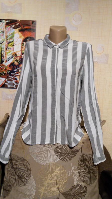 Полосатая блуза рубашка от zebra