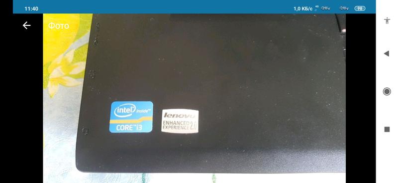 Ноутбук Lenovo ThinkPad L520 intel core i3 - Фото 5