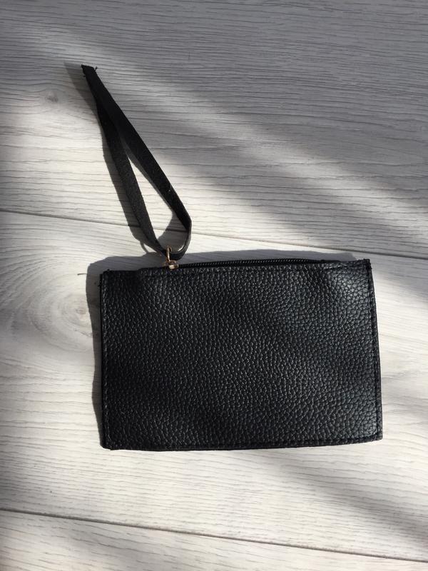 Маленька косметичка , чорна, гаманець, маленька сумочка, клатч...