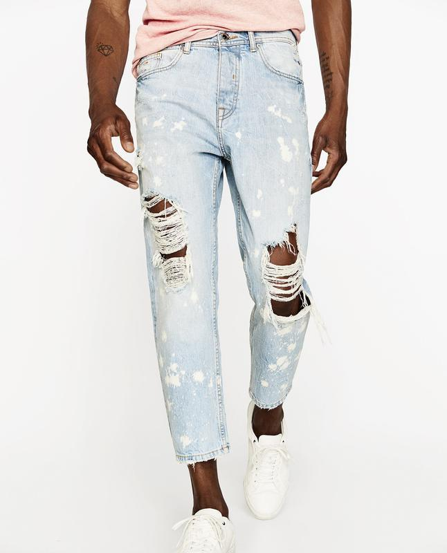Чоловічі джинси zara man denim wear
