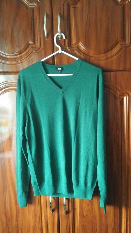 Стильный мужской пуловер uniqlo распродажа