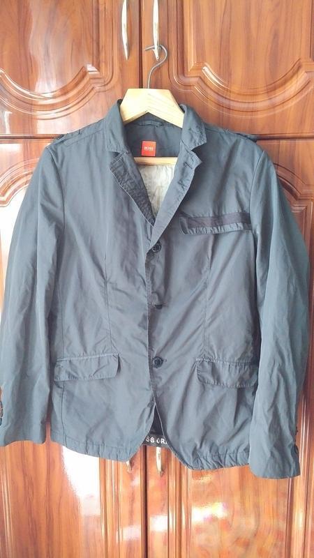 Мужской пиджак куртка под костюм hugo boss распродажа