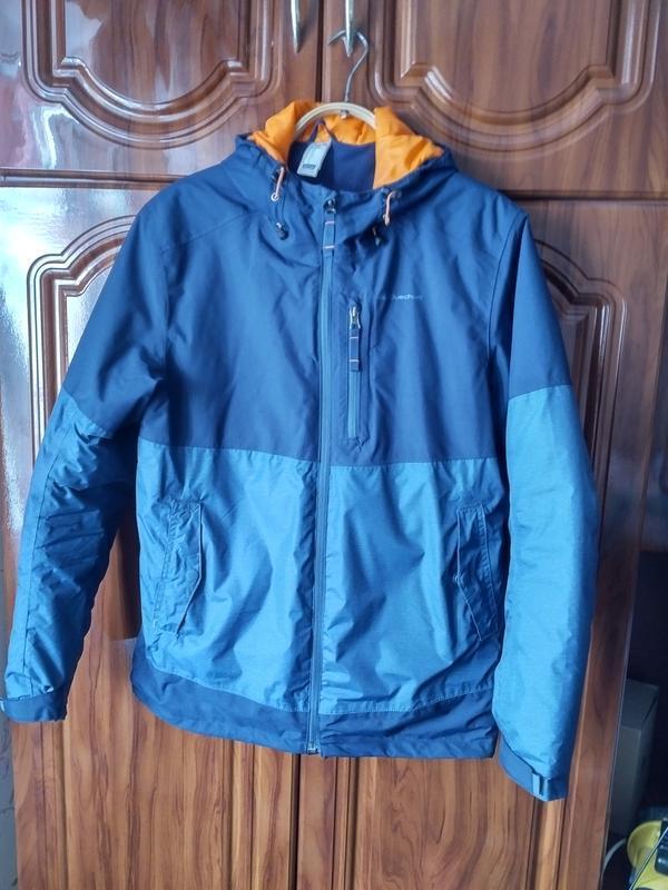 Зимняя мужская куртка quechua флис