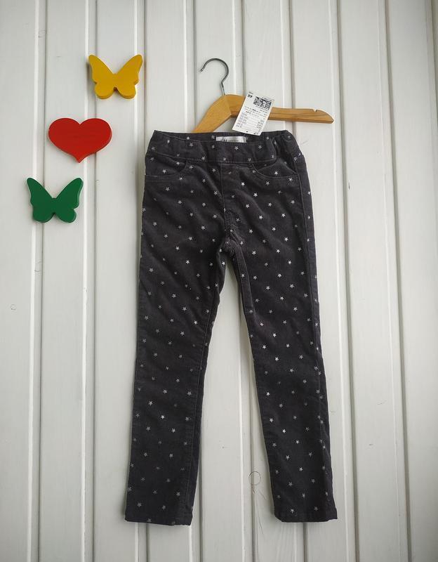 3-4 года, брюки для девочки,h&m