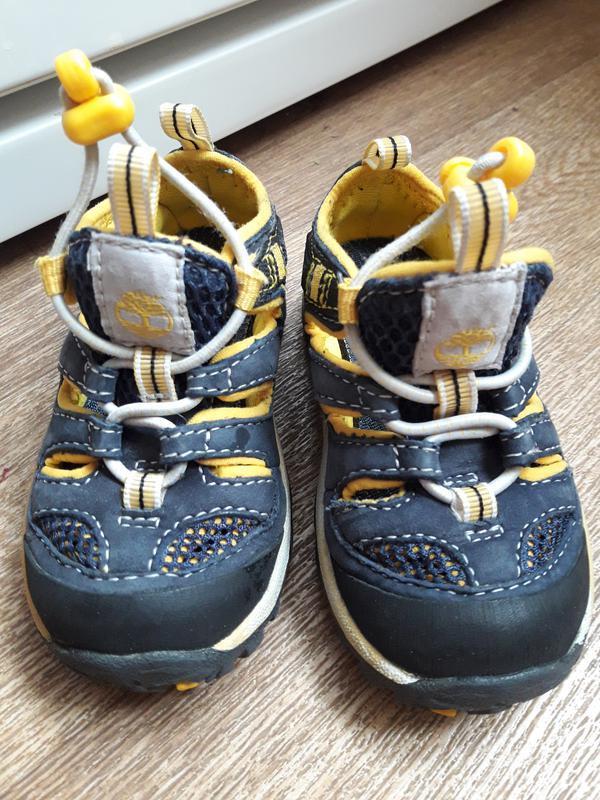 Летние туфли timberland 21 размер