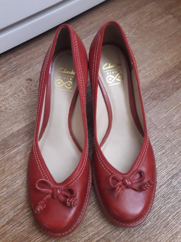 Туфли clarks 39 размер