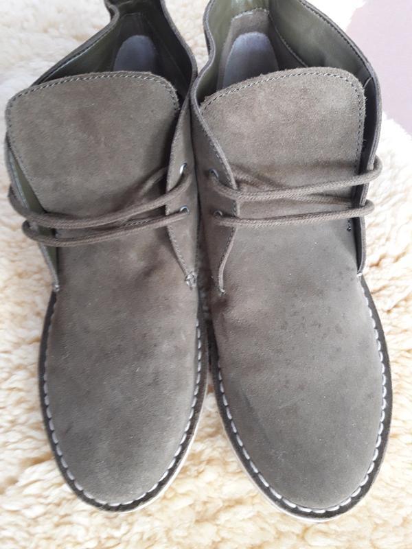 Демисезонные ботиночки дезерты  pull&bear 39 размер